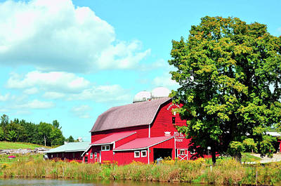 Photograph - Pennsylvania Dairy Farm by JAMART Photography