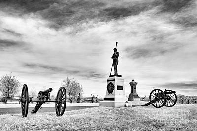 Photograph - Pennsylvania Light Artillery by Paul W Faust - Impressions of Light