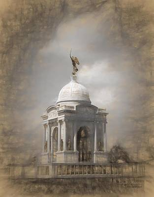 Photograph - Pennsylvania Memorial - Gettysburg by Dyle Warren