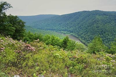 Photograph - Pennsylvania Mountain Outlook by Andrea Hazel Ihlefeld