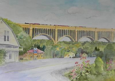 Pennsylvania - Nicholson Bridge Art Print