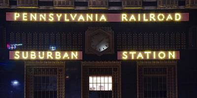 Photograph - Pennsylvania Railroad by Frozen in Time Fine Art Photography