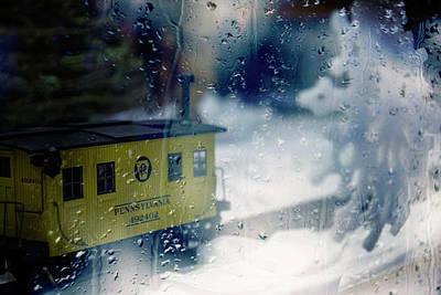 Photograph - Pennsylvania Railroad Scale Model Train by Toni Hopper