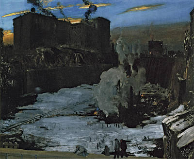 Photograph - Pennsylvania Station Excavation by George Bellows