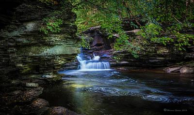 Fluid Photograph - Pennsylvania Stream by Marvin Spates