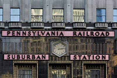 Photograph - Pennsylvania Suburban Station -  by Susan Candelario