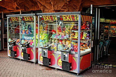 Photograph - Penny Arcade by Doc Braham