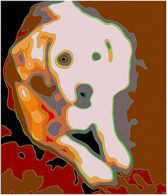 Mixed Media - Penny - Beagle by Patricia Griffin