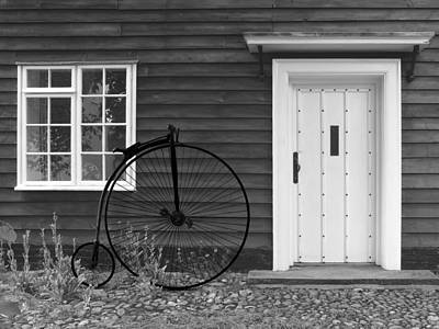 Photograph - Penny Farthing Cottage by Gill Billington