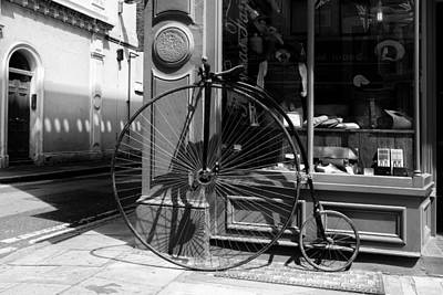 Bloomsbury Photograph - Penny Farthing In London by Georgia Fowler