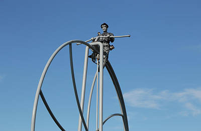 Photograph - Penny Farthing On High by Nareeta Martin