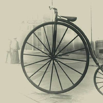 Wall Art - Photograph - Penny-farthing by Ron Meiners