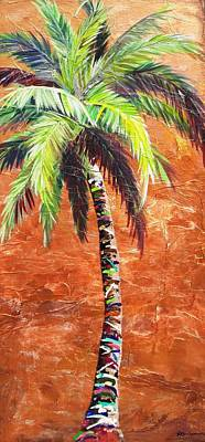 Penny Palm Art Print