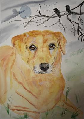 Painting - Penny  by Susan Voidets