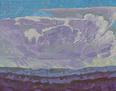 Watershed Painting - Penny Thunderstorm by Phil Chadwick