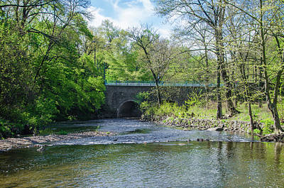Pennypack Photograph - Pennypack Creek Bridge Built 1697 by Bill Cannon