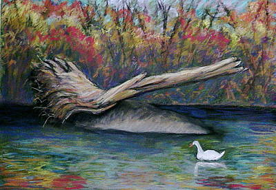 Pennypack Painting - Pennypack Park by Marita McVeigh