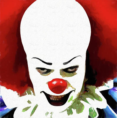 Pennywise Clown Art Print