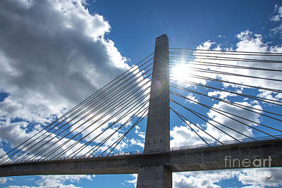 Photograph - Penobscot Bridge Observation Tower by Alana Ranney