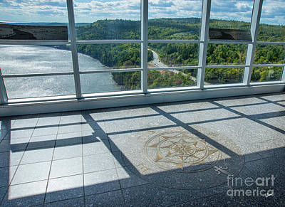 Photograph - Penobscot Narrows Bridge And Observatory by Alana Ranney