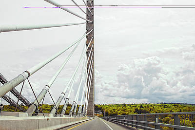 Photograph - Penobscot Narrows Bridge by Kay Brewer