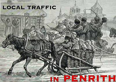 Penrith Local Traffic Art Print