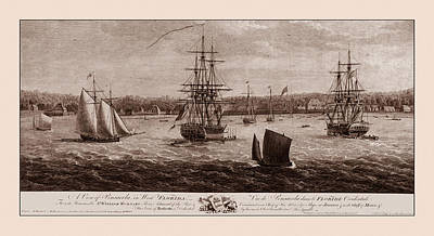 Photograph - Pensacola 1775 by Andrew Fare