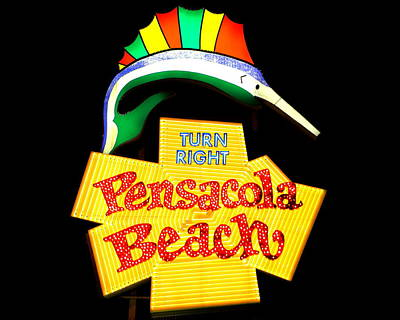 Photograph - Pensacola Beach by Larry Beat
