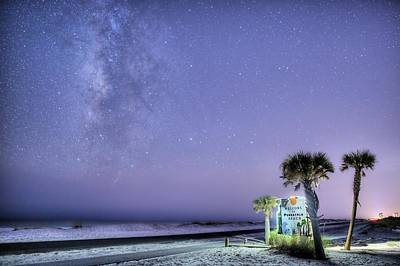 Photograph - Pensacola Beach Nights by JC Findley