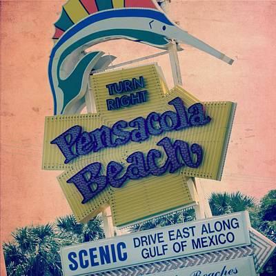 Swordfish Mixed Media - Pensacola Beach V2 by Brandi Fitzgerald