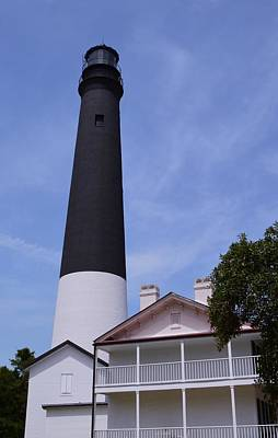 Photograph - Pensacola Lighthouse And Keepers House 2 by Warren Thompson