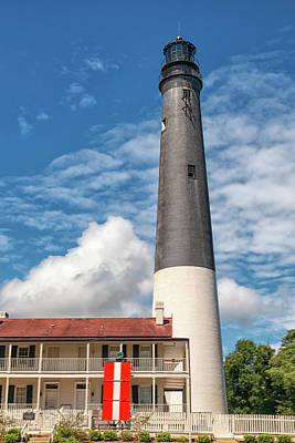 Photograph - Pensacola Lighthouse by Victor Culpepper