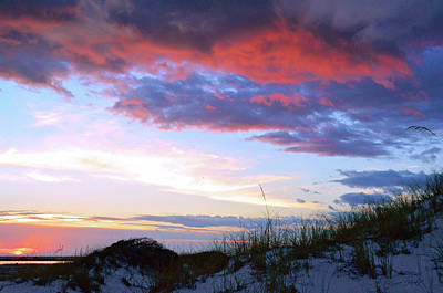 Photograph - Pensacola Sunset After The Storm by Marie Hicks