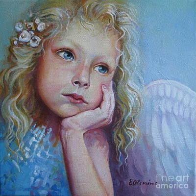 Pensive Angel Original