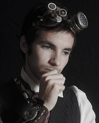 Male Photograph - Pensive by Evan Butterfield