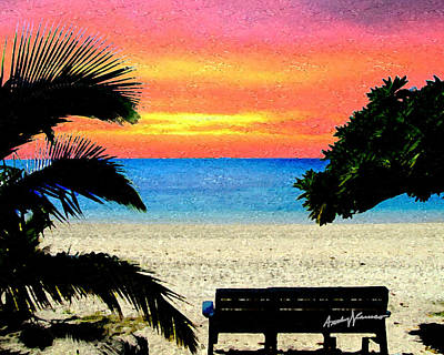 Pensive Place 2 Art Print by Anthony Caruso