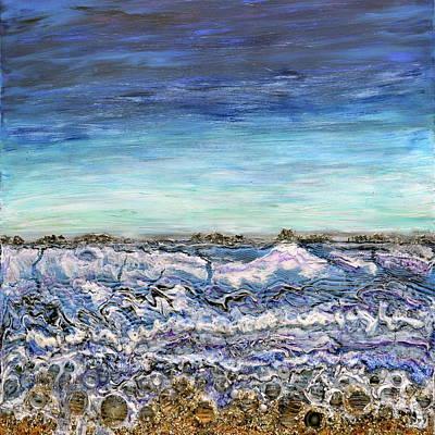 Pensive Waters Art Print