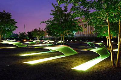 Pentagon 9 11 Memorial Always Remember Art Print by James Kirkikis