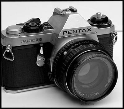 Photograph - Pentax Me Super by James C Thomas