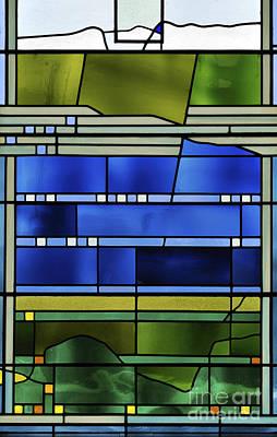 Pentecost Window Photograph - Pentecost I. by Stan Pritchard