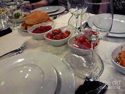 Photograph - Pentecost Meal by Donna L Munro