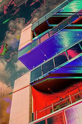 Digital Art - Penthouse Access by Wendy J St Christopher