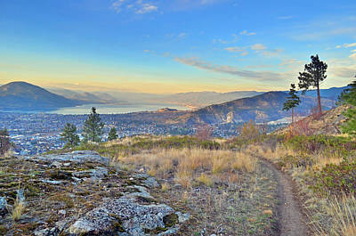 Photograph - Penticton In The Distance by Tara Turner
