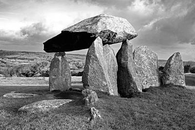 Photograph - Pentre Ifan Burial Chamber by Bob Kemp