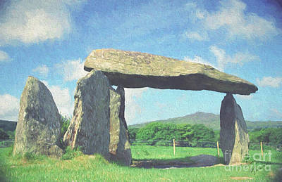 Photograph - Pentre Ifan by Diane Macdonald