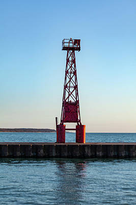 Photograph - Pentwater Light Tower by Fran Riley