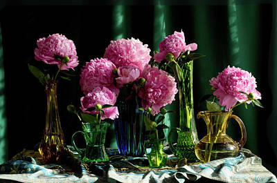 Wall Art - Photograph - Peonies #5 by Wendy Blomseth