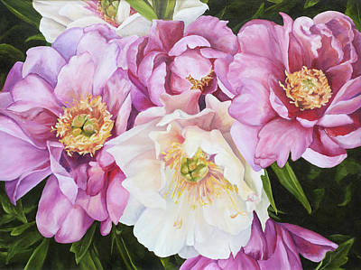 Painting - Peonies by Elise Procter