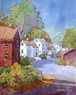 Painting - Peonies I Saw In Pennsylvania by Joyce Hicks