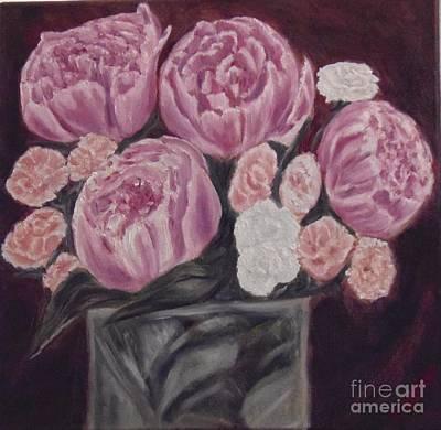 Painting - Peonies by Isabel Honkonen